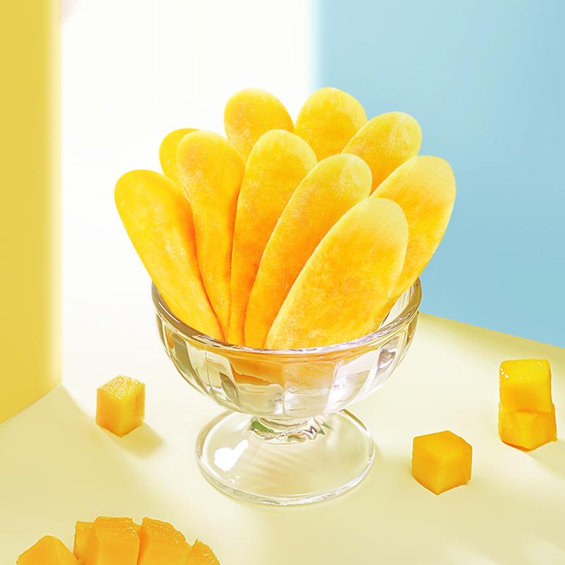 厚切芒果干100gx3袋 泰国风味果干果脯混合装蜜饯水果干零食小吃