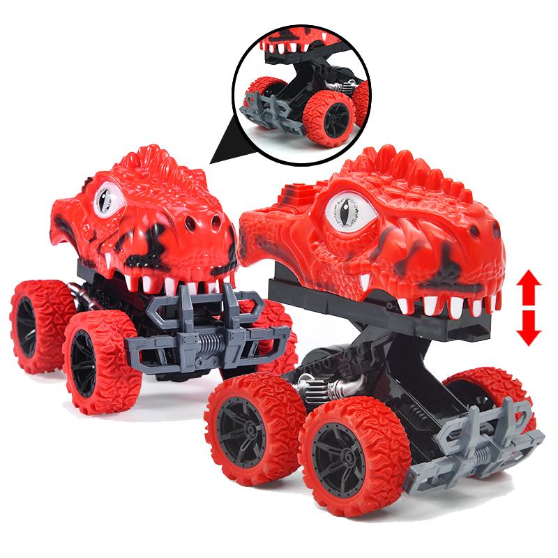儿童玩具撞击变形车一键变形玩具车
