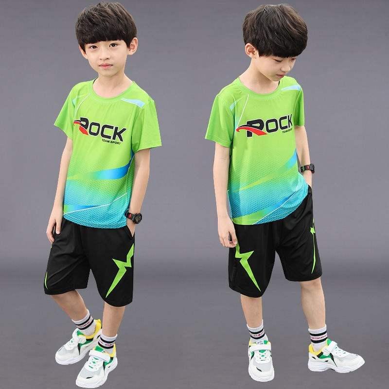 男童运动套装男大童男装夏装八11九12十15岁小学生男孩衣服洋气潮