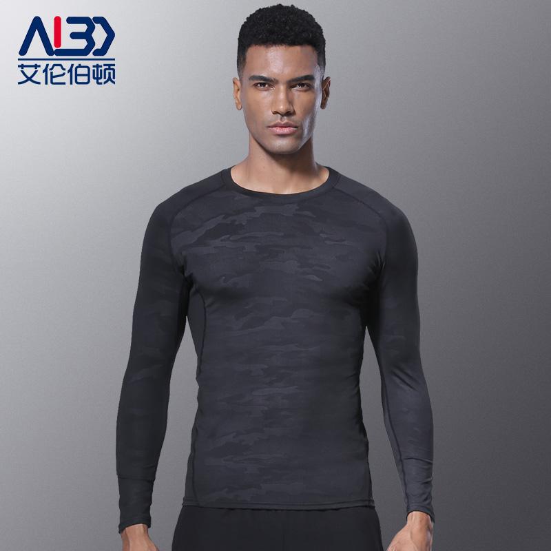 恩施耐克紧身衣男运动上衣长袖训练速干短袖跑步足球健身套装T恤