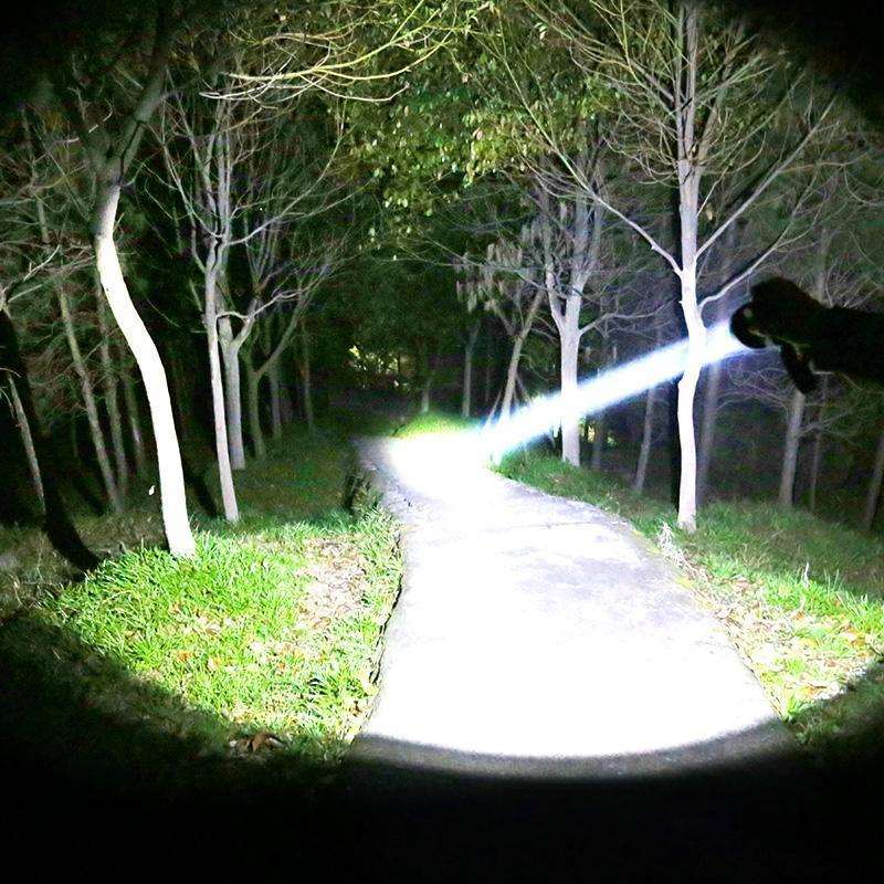 Headlamp strong light super bright long-range rechargeable overhead lamp head wearing flashlight LED miners lamp fishing and hunting waterproof lithium battery