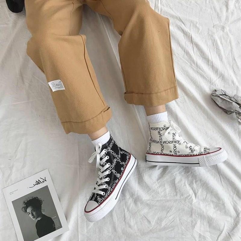 中國代購 中國批發-ibuy99 运动鞋 嘻哈女鞋子潮街舞高帮运动鞋韩版百搭学生原宿板鞋网红休闲帆布鞋