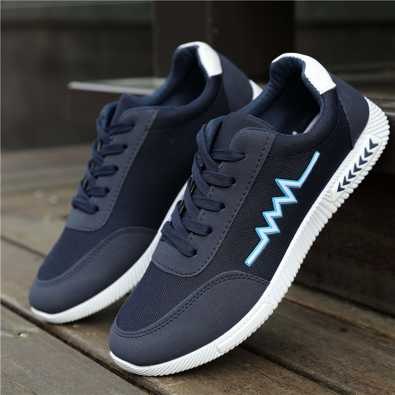 Shoes mens board shoes canvas sports shoes casual shoes summer autumn summer breathable running Xiaobai work Korean version