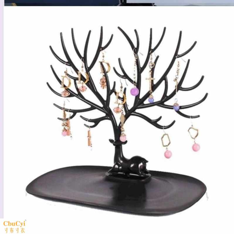 Little girls headrope rack tree shaped daily necessities ornament bedroom hand Necklace storage rack ear clip Bracelet girl