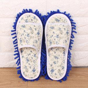 春夏季男女情侣懒人擦地拖鞋拖地托鞋可拆洗木地板清洁鞋