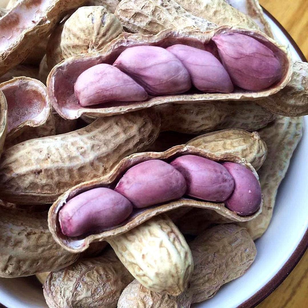 2021 Longyan red peanut peanuts crisp three or four red 500g peanuts five
