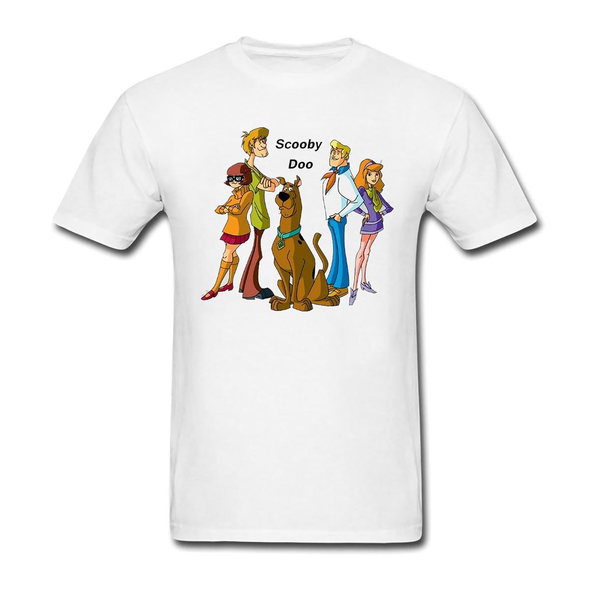 Scooby cartoon funny family retro mens and womens Short Sleeve T-Shirt