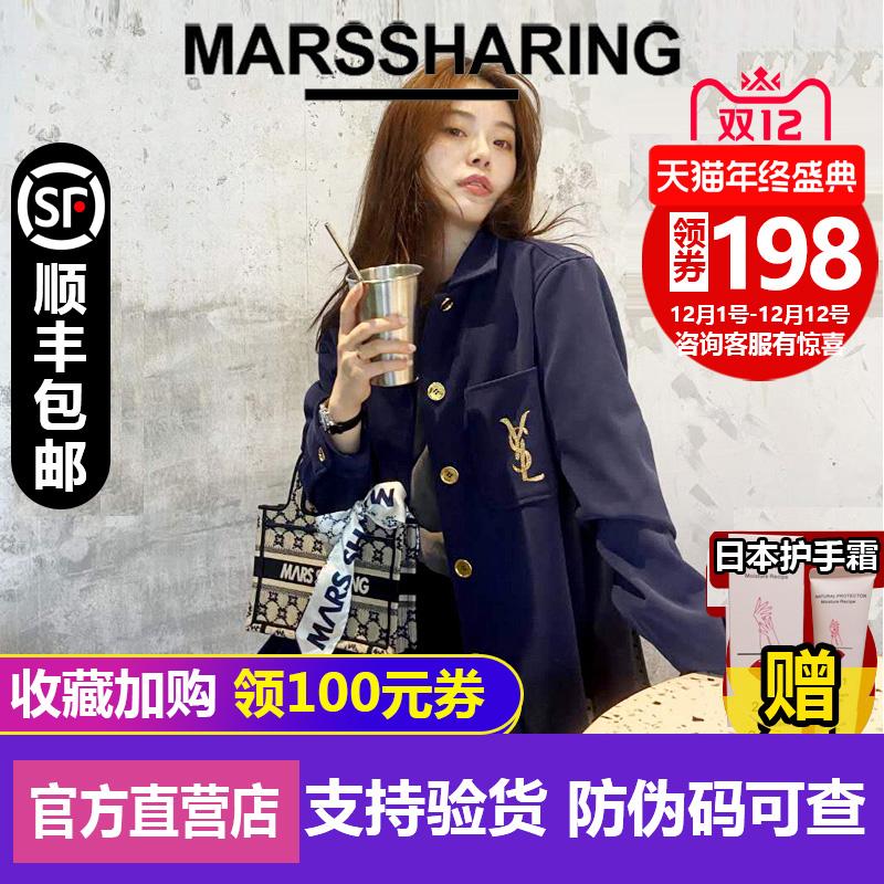 日本MARSSHARING包包2020新款BOOKTOTE系列帆布购物袋老花包包女