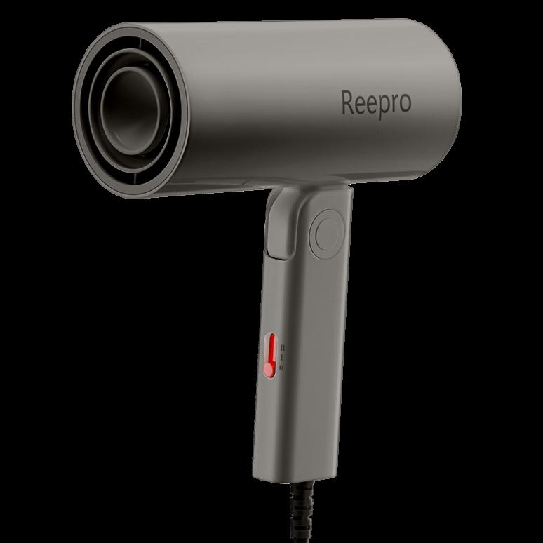 Reepro吹风机家用大功率负离子护发便携可折叠小米有品旅行黑色