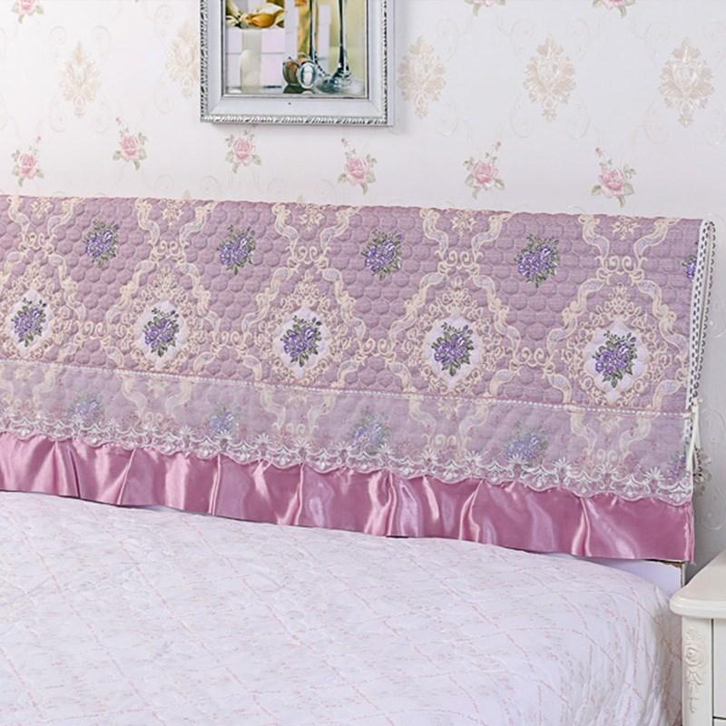 1.2米床头罩1.5米床头套1.8米防尘罩2米床实木保护罩床头套子简约假一赔十