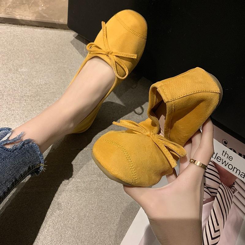 2019春夏软底芭蕾舞浅口懒人豆豆鞋12月02日最新优惠