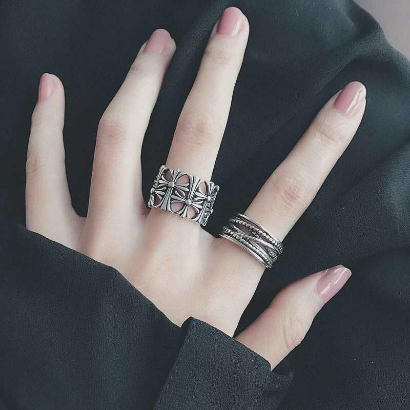 Jewelry leisure ring new fat combination ring clasp women fairy princess style Japanese and Korean fashion lovers