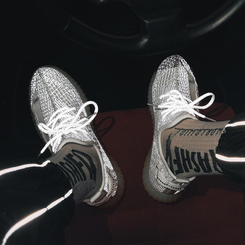 男鞋2020春夏椰子350鞋信誉赌场游戏平台鞋男潮鞋男厚底老爹鞋男跑步鞋3M反光X