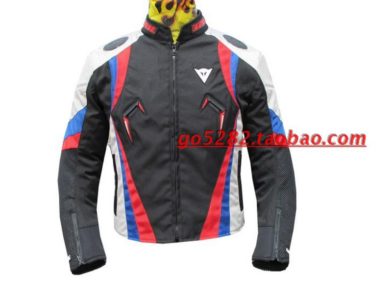 New four seasons motorcycle racing suit mens motorbike riding fall proof clothes outdoor commuter protective jacket