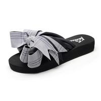 蔻艾缇夏新款凉拖鞋女韩版高跟沙滩鞋百搭休闲厚底防滑网红一字拖