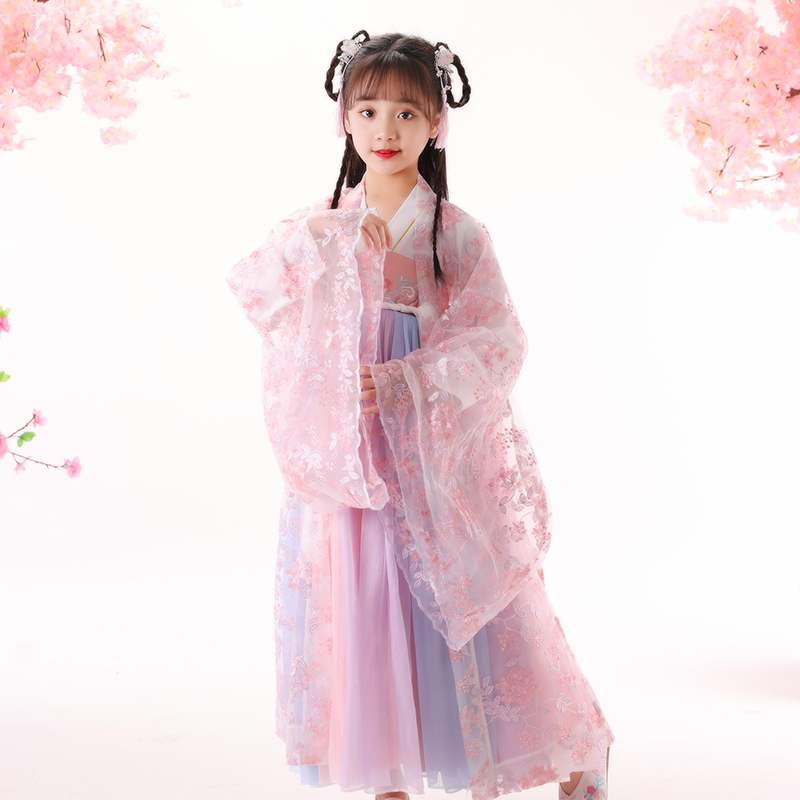 Girls dress, big boys dress, little girls dress, Tianhan dress, fashionable and breathable summer dress, new style 2020