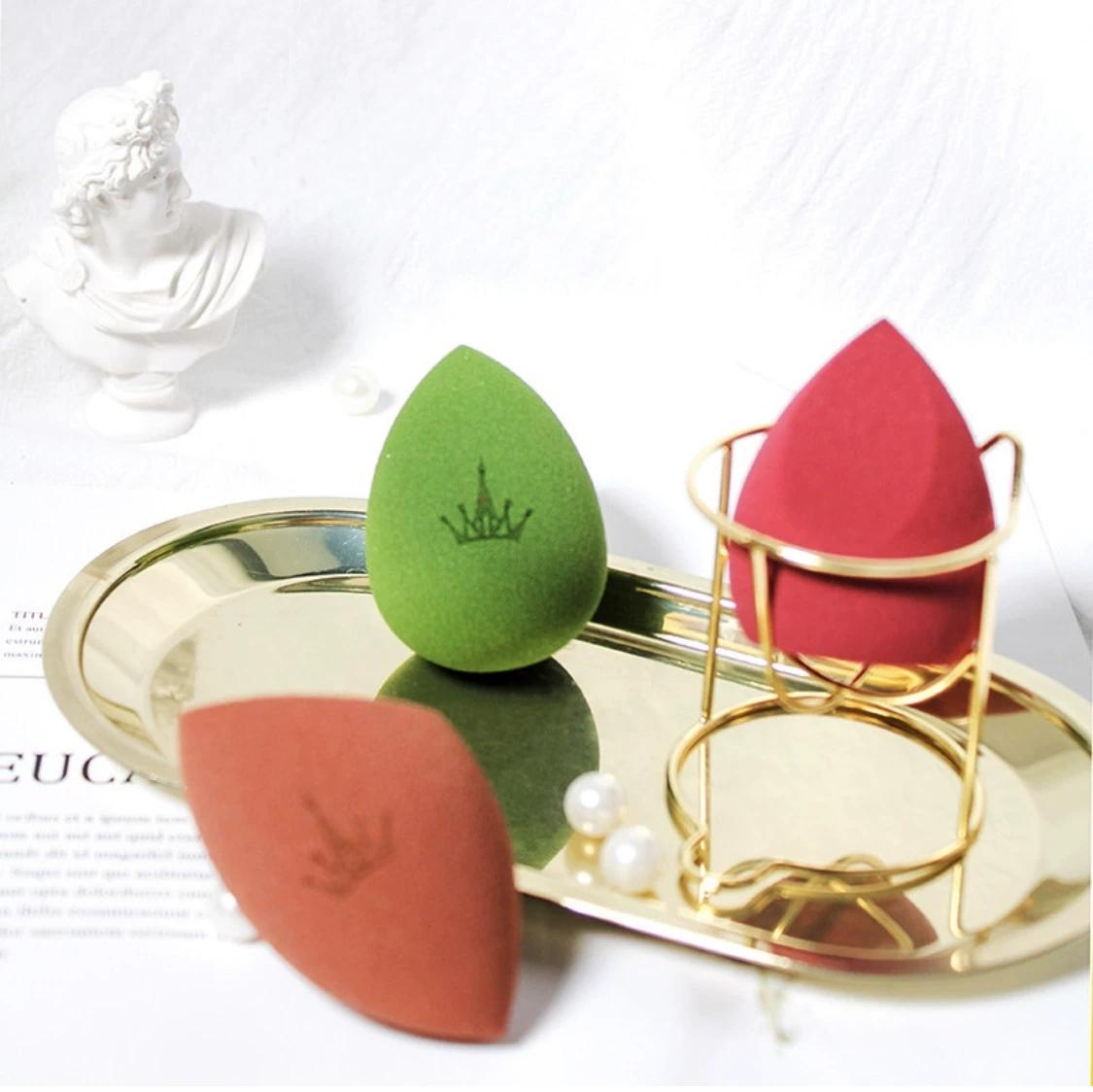 韩国尔木萄美妆蛋粉女干湿两用粉扑彩妆不吃粉海绵气垫化妆蛋套装