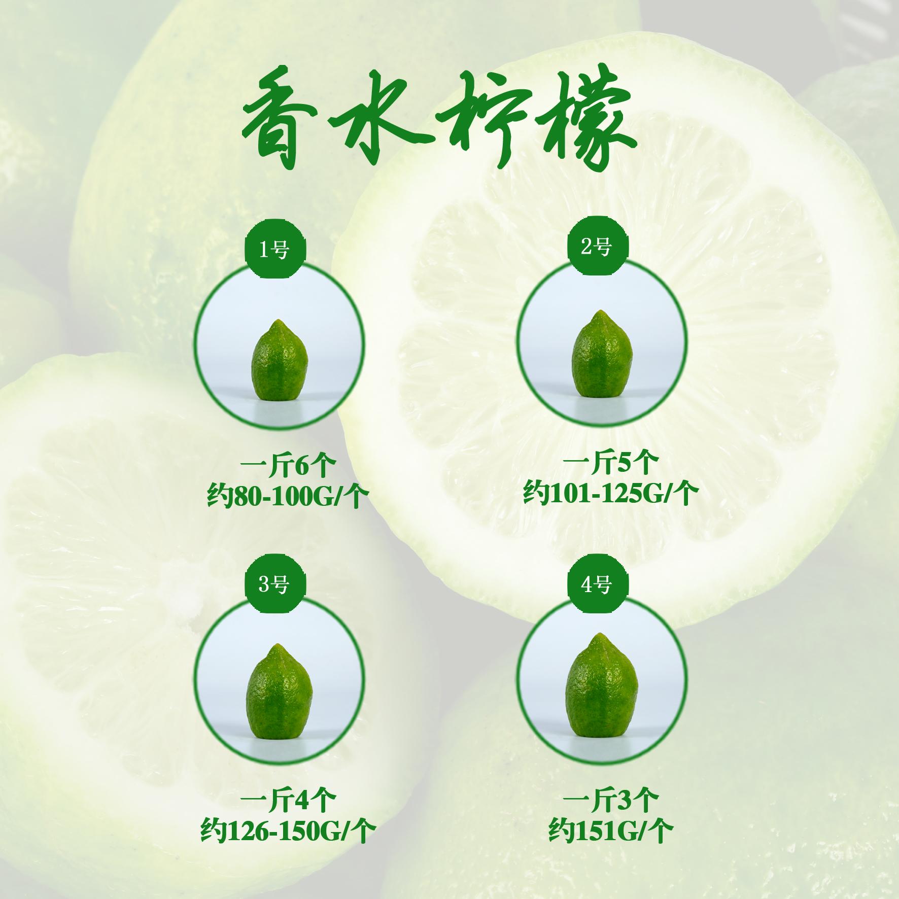本地一级香水柠檬大个新鲜无籽柠檬带箱1斤满10斤顺丰包邮(用8.75元券)