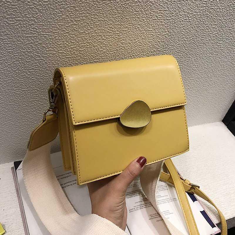 新品包包女2019新款复古包简约百搭单肩斜挎包时尚潮流风琴包女包