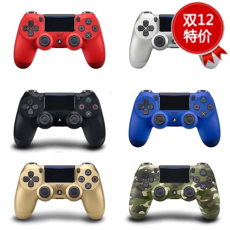 10月16日最新优惠Sony Wireless bluetooth Gamepad PS4 Game
