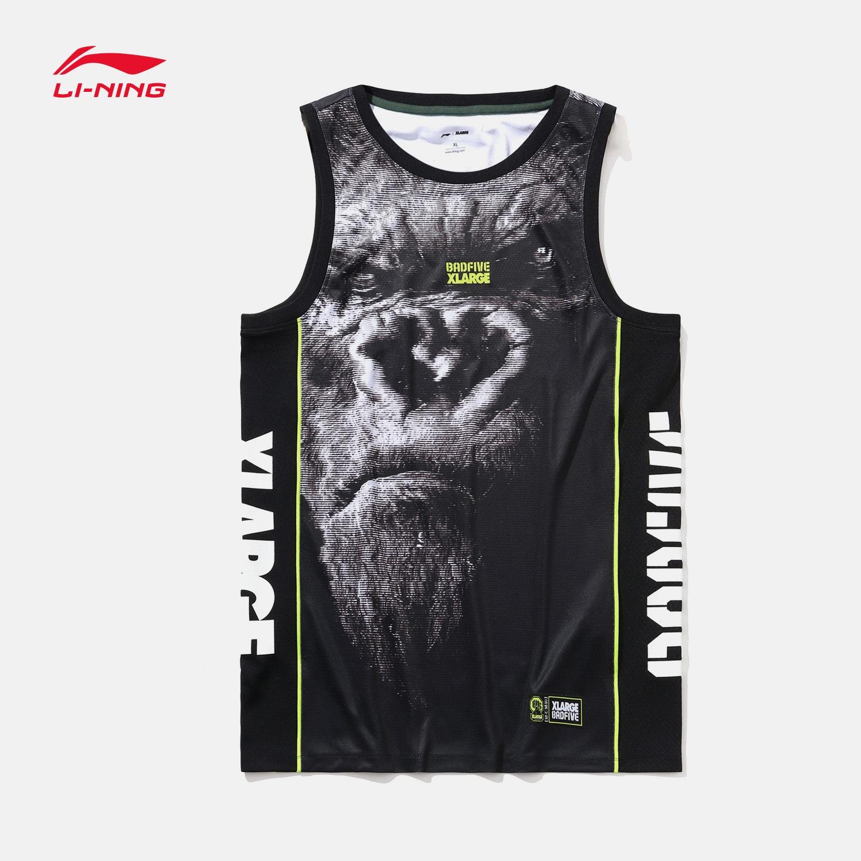 李宁BAD FIVE&XLARGE破旧立新系列2019新款篮球比赛服男士运动服