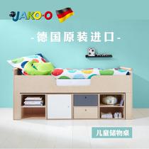 3折特价现货儿童床JAKOO德国进口带护栏原木HABA子品牌