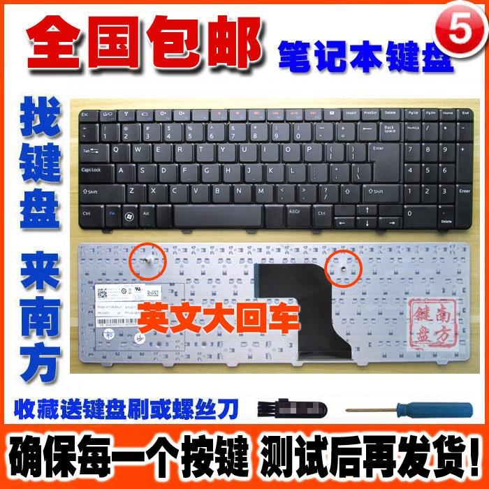 更换 灵越 N5010 15R N501 M5010 M501R 5010 笔记本键盘
