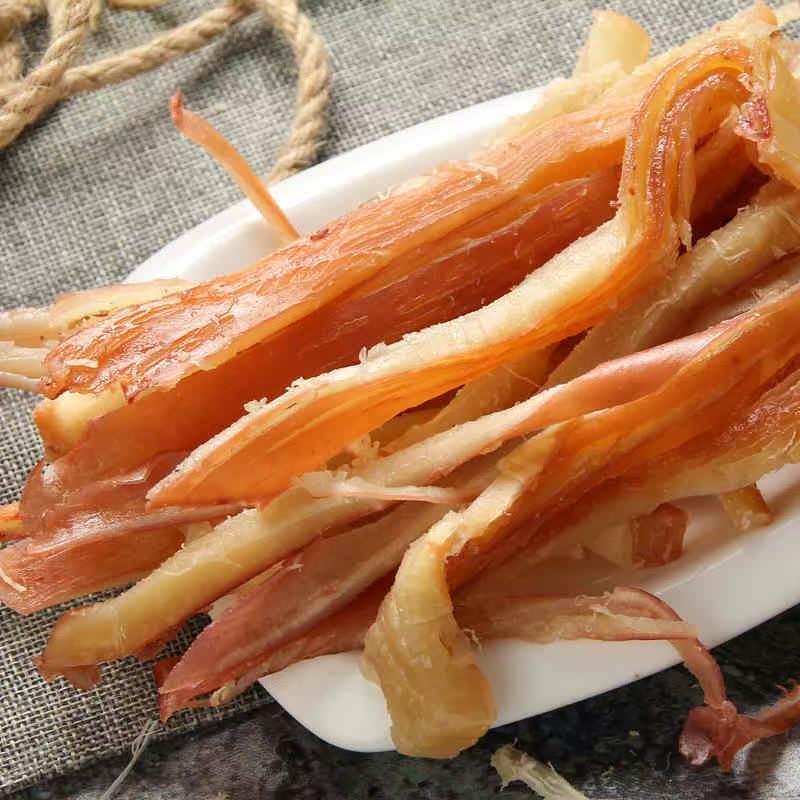 犹豫丝 鱿鱼丝即食大包装铁板尤鱿鱼条小吃鱿鱼片干货特色熟食散