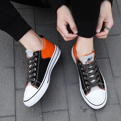 2020 spring and autumn new mens student trend board shoes mens versatile canvas shoes breathable casual shoes mens fashionable shoes