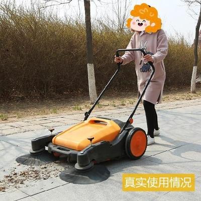 手推式一体机人工地面饭店吸车马路扫地机卫生清扫移动。工厂无尘