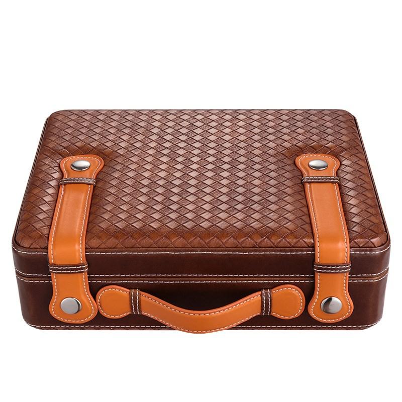 保湿盒保湿雪茄盒醇香雪松木便携式雪茄箱雪茄柜礼盒包装保湿烟盒 Изображение 1
