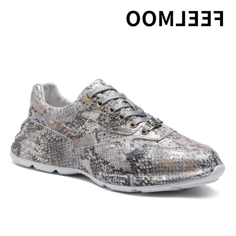 Hot selling high-end fashion brand mens shoes in spring and autumn 2020 new youth fashion pattern mens leisure low top sports thick