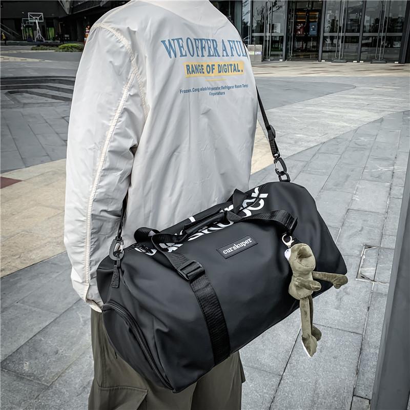 干湿分离运动健身瑜伽包短途旅行包男大容量手提旅游行李袋女轻便