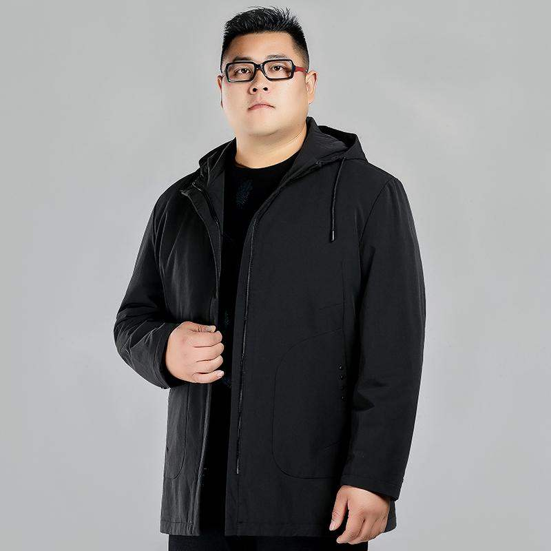 Group buying brand fat plus large winter warm coat plus fat and large down jacket for men