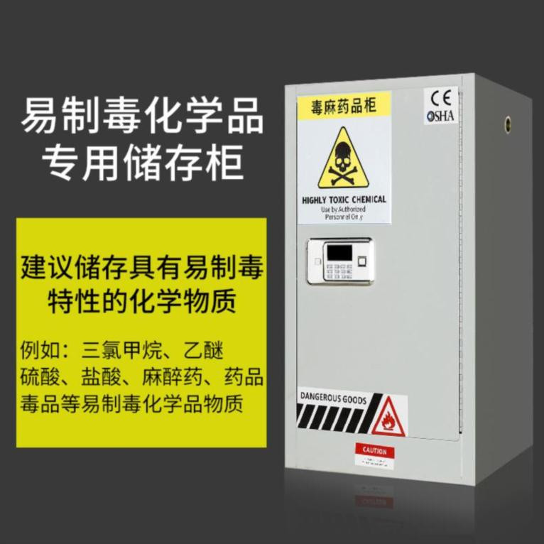 Cabinet special reagent cabinet for liquid nitric acid 12 gal strong acid strong alkali storage hydrochloric acid PP anticorrosion cabinet classification vessel cabinet