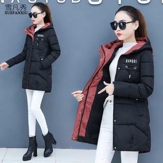 爆款棉服2020年新款女装韩版宽松棉衣秋冬季外套女中长款棉袄大衣
