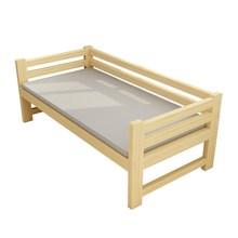 实木床加宽床单人床加长带护栏小床边床拼接加大床延长双人床