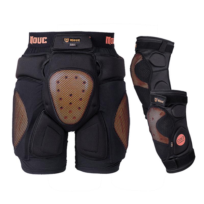升级款MOUC D3O滑雪护具单独护臀单板双板内穿装备防摔护臀垫