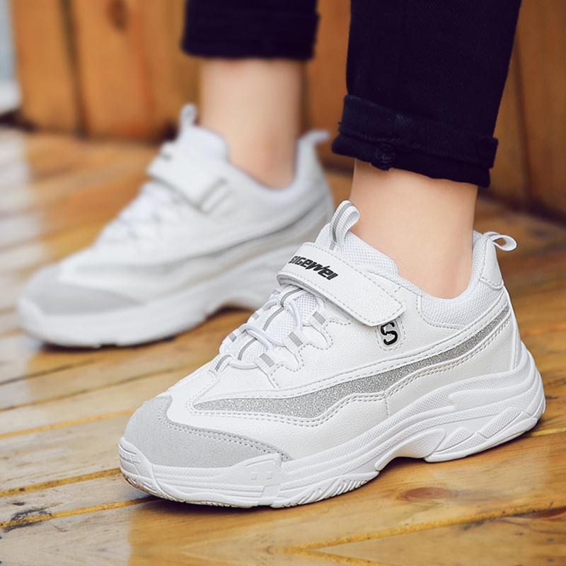 儿童老爹鞋 男童鞋子潮洋气 韩版小白鞋女童鞋2019年秋季新款童鞋