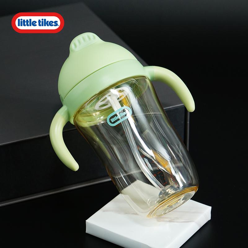小泰克LittleTikes儿童水杯PPSU宝宝饮水吸管重力球婴儿幼儿园