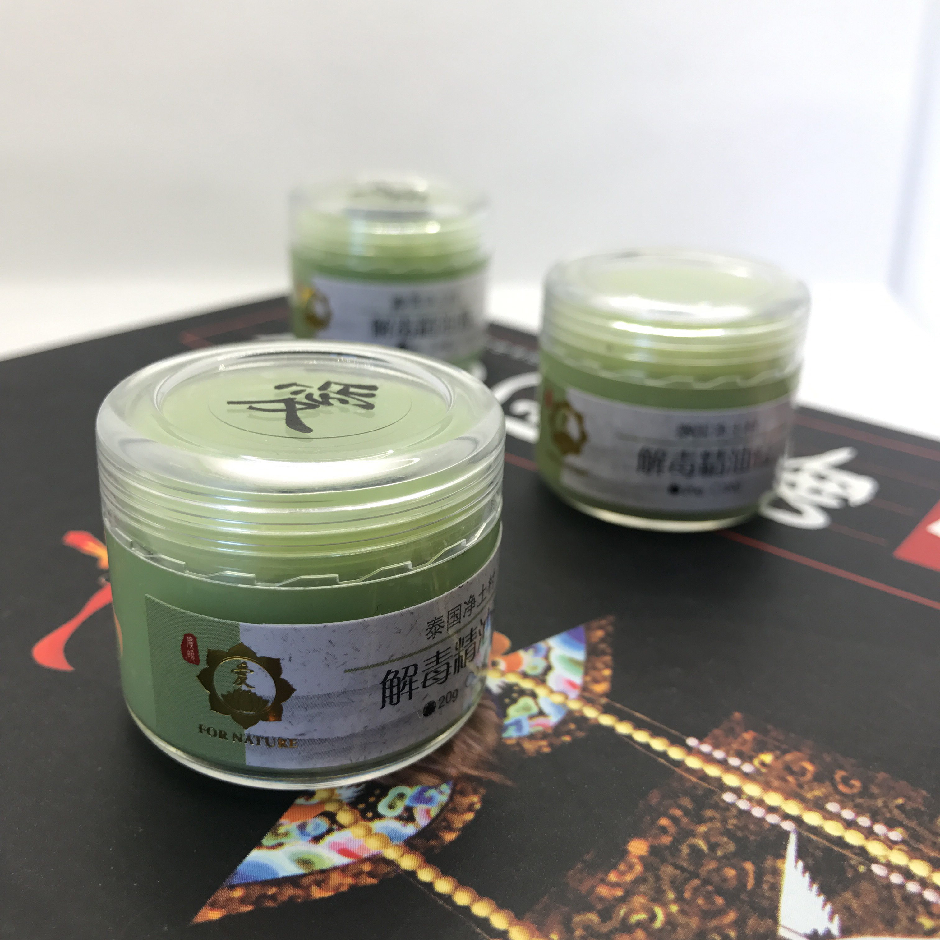 Essential oil ointment of pure land village in Thailand