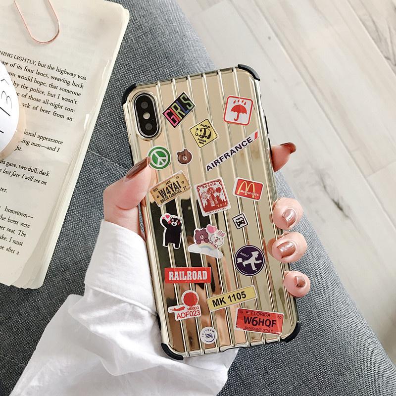 创意贴纸旅行箱苹果x手机壳iphonexsmax/xr保护套7/8个性6S男女款券后13.80元