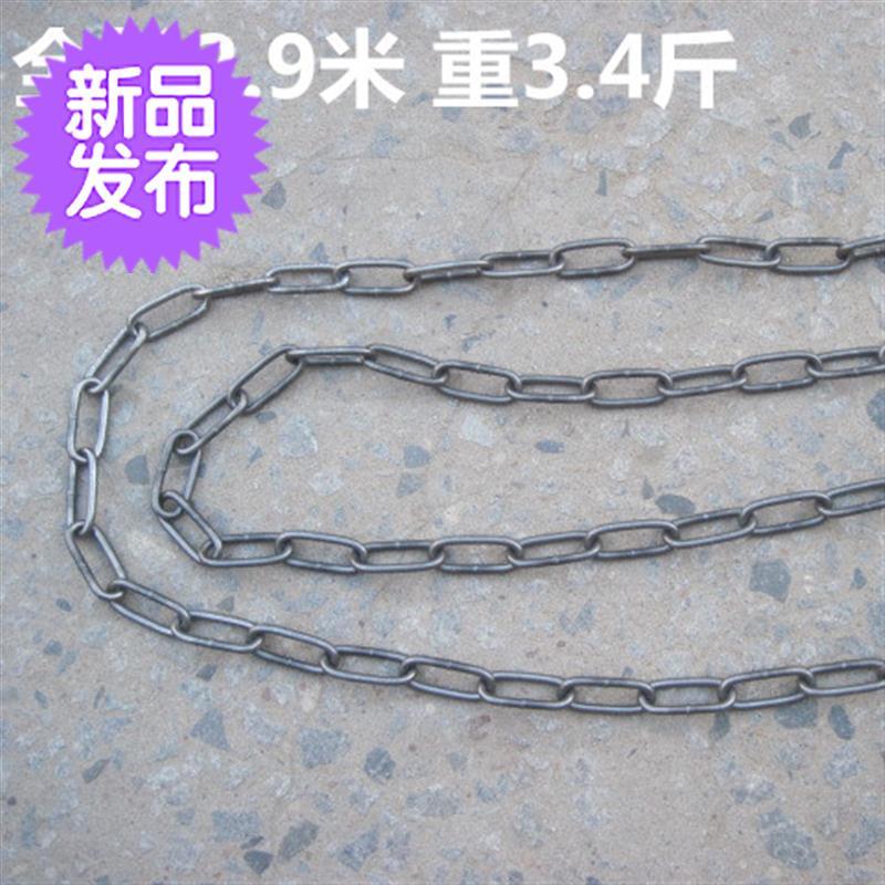 Iron chain / Stone lifting c-head chain / lifting chain thick black chain CHANDELIER CHAIN rough bar Internet bar partition decoration iron