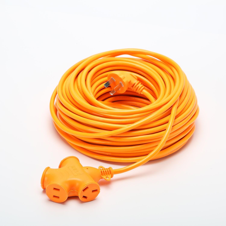 防冻电车插排插座加长充电线延长线61020米三脚插头电源接线板,可领取10元淘宝优惠券