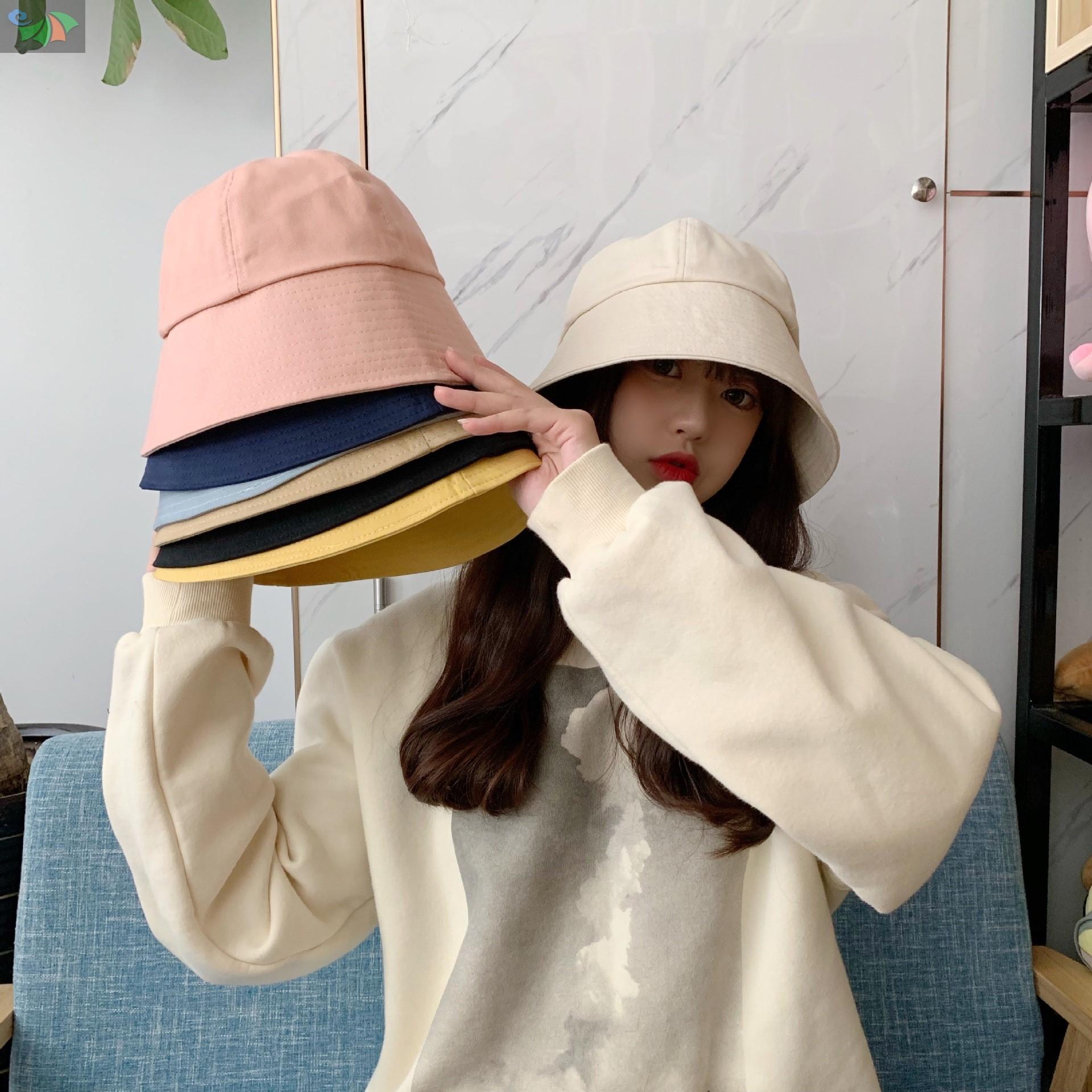 中國代購|中國批發-ibuy99|女士帽子|今年流行的帽子女士春季时尚年轻头大适合洋气漂亮水桶帽遮阳韩版