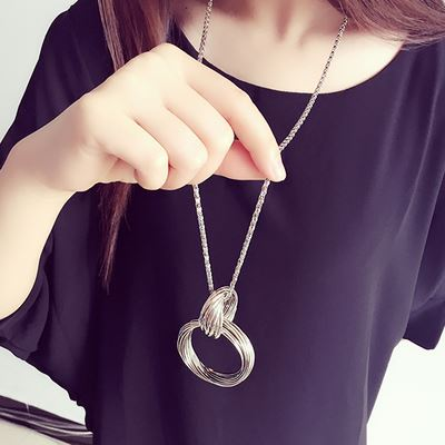 Adorn casual hanging, atmospheric womens neck hanging, about casual chest chain, clothes matching childrens clothes, fashionable chest