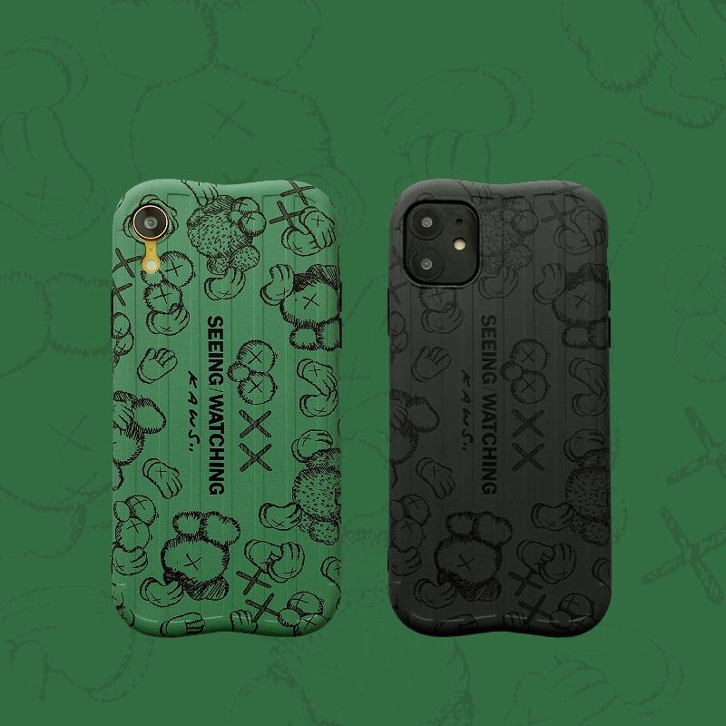 潮牌个性情侣kaws创意xr苹果手机壳