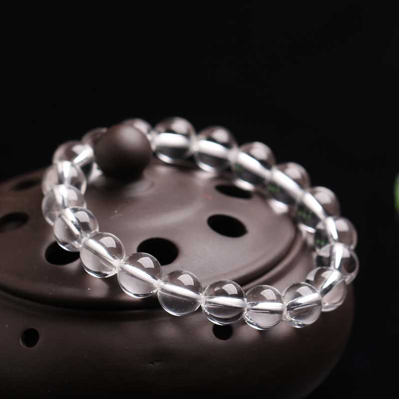 Proud 5A white crystal bracelet hand string Valentines Day gifts for male girlfriends simple fashion jewelry for lovers