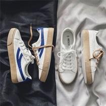 男鞋子春季小白鞋子男士运动休闲鞋男韩版潮流皮鞋男百搭白色板鞋
