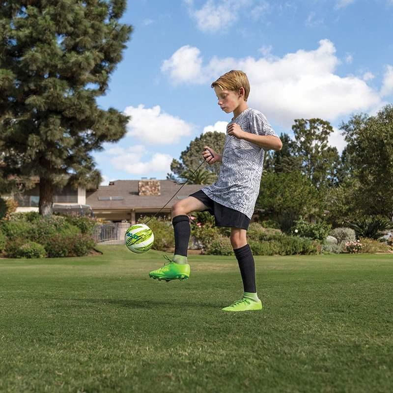 热销0件正品保证儿童带绳足球提线足球控球训练器颠球器辅助回弹学生球技增长神器